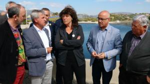 Reunió de la consellera amb la Comunitat de Regants de Valls.