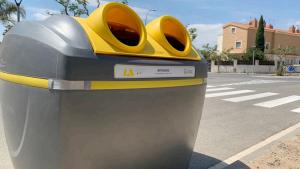 Riudoms millora l'eficiència de la recollida d'escombraries amb un nou model de contenidors