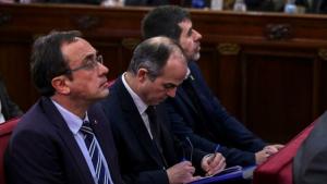 Rull, Turull i Sànchez deixen l'escó al Parlament i l'independentisme té de nou la majoria