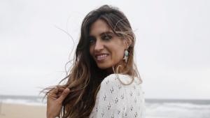 Sara Carbonero en el lanzamiento de su línea de joyas Mi Mar