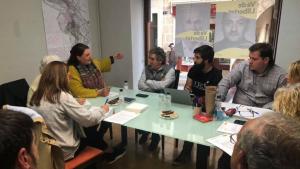 Trobada d'Agrupament Catalanista de Montblanc amb entitats del municipi.