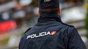 Un agent de la Policia Nacional, en una imatge d'arxiu.