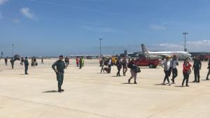 Un avió de Vueling ha aterrat d'emergència a Barcelona per una amenaça de bomba