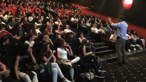 Un centenar d'alumnes tarragonins assisteixen a la conferència
