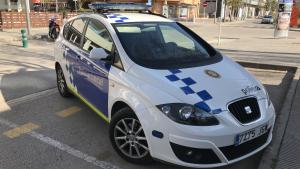 Una imatge d'arxiu de la Policia Local de Torredembarra, que ha intervingut aquesta tarda al lloc dels fets.