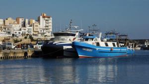 Una imatge d'arxiu del port pesquer de l'Ametlla de Mar.