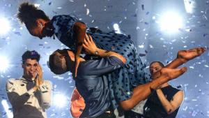Valeria y Fonsi, ganadores de la final por parejas de 'Fama a bailar'