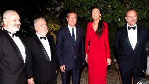 Victoria Federica, junto con el resto de invitados