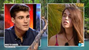 Violeta y Julen rompen su relación durante la conexión