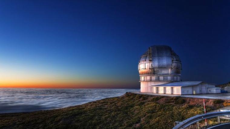 El Gran Telescopio Canarias quiere seguir vigilando el espacio buscando meteoritos peligrosos
