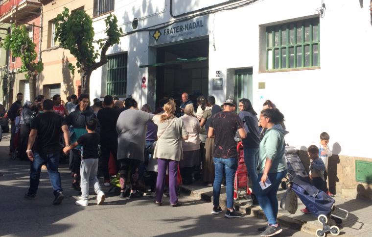 El local de Frater-Nadal es troba al carrer Doctor Gimbernat
