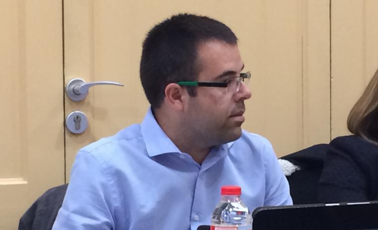 El regidor de Veïns per Rubí, Toni Garcia