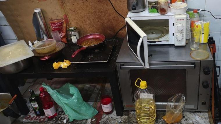 La cuina d'un local del barri Gòtic