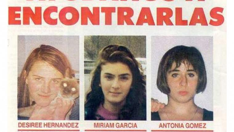 Imagen de las tres niñas