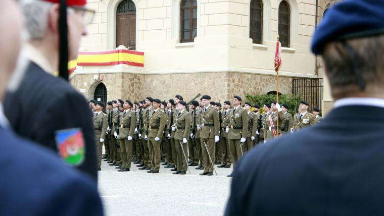 Jura de bandera a Barcelona