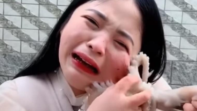 Imatge de l'angoixant moment que va passar la noia