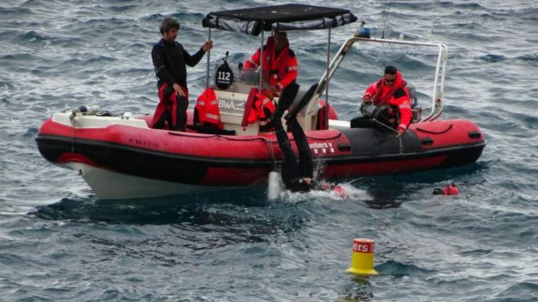Imatge del dispositiu que s'ha muntat per trobar l'home
