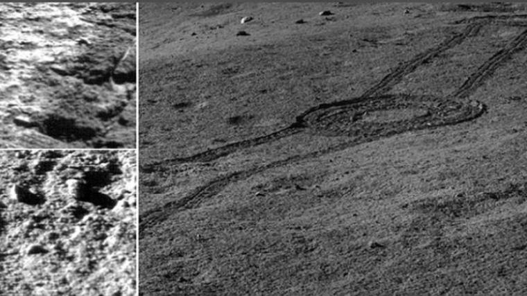 Imatges de les restes del mar de lava a la cara oculta de la Lluna