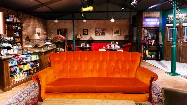 La cafeteria 'Central Perk' és un dels sets que es poden visitar