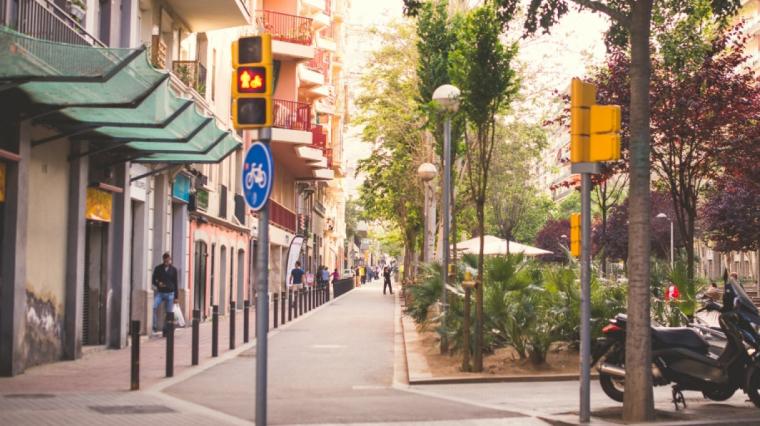 Avinguda Mistral de Barcelona
