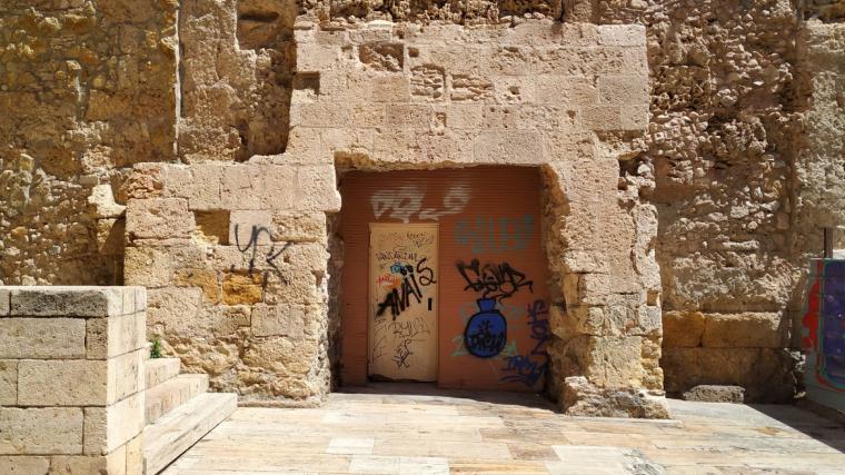 Les escales romanes que unien el Fòrum i el Circ quedaran al descobert i es podran veure des del carrer Ferrers de Tarragona.