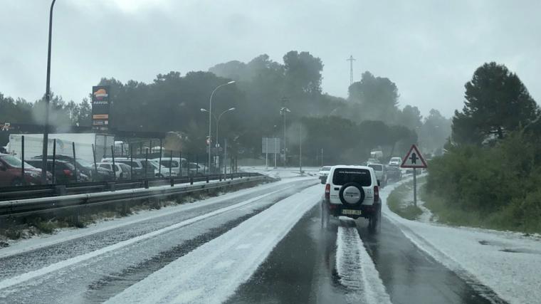 Las lluvias intensas y las granizadas regresarán al norte del país a finales de esta semana