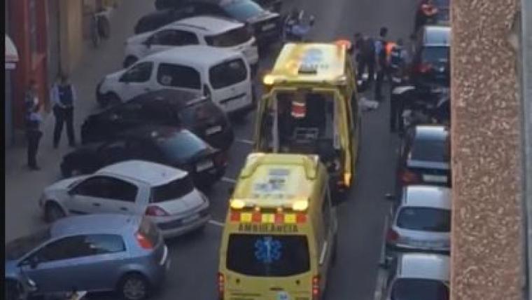 Incident carrer Benidorm Reus