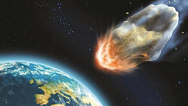 Un pequeño meteorito cayó el jueves en las costas de Almería