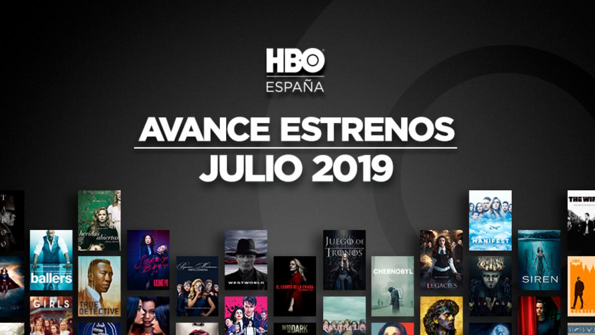 Descubre los estrenos de HBO España para julio 2019