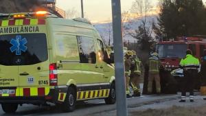 Accident de trànsit al Vallès