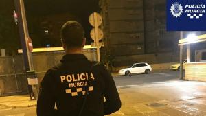 Agentes de la Policía Local de Murcia detuvieron a la mujer