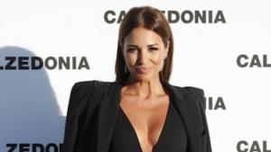 Així va vestir Paula Echevarría a la desfilada de Calcedonia