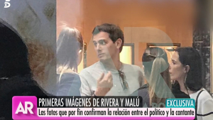 Albert Rivera y Malú de compras