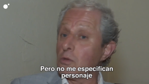 Albert Solá en una entrevista en Cuatro