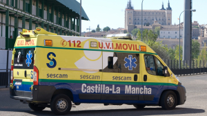 Ambulancia sescam