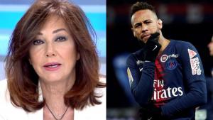 Ana Rosa ha criticado duramente la actitud de Neymar