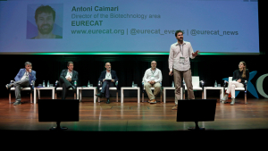 Antoni Caimari va exposar el projecte Nutrisalt