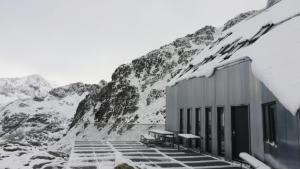 Aspecto del refugio de montaña aragonés de Cap de Llauset, en el Pirineo de Huesca