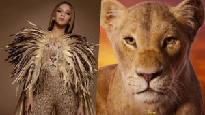 Beyoncé pone voz a Nala en el remake de 'El Rey León'.