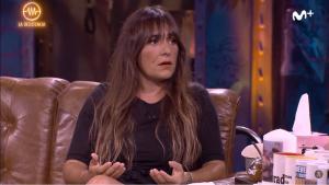 Candela Peña está promocionando su nueva serie 'Hierro'