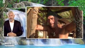 Carlos Sobera y Carlos Lozano en 'Supervivientes'