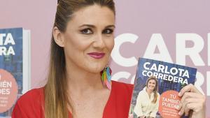 Carlota Corredera en la publicación de su libro