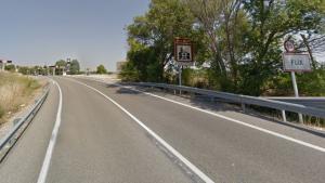 Col·lisió per encalç a la carretera C-12 al terme municipal de Flix