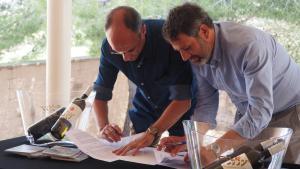 Conveni d'acord per a la investigació de la vil·la romana de Mas dels Frares de Constantí