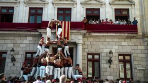 Diada castellera de Sant Pere a Reus