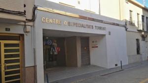 El Centre d'Especialitats de Torrent és a on el pacient s'ha atrinxerat