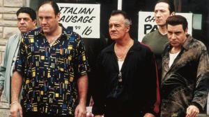 El elenco original de 'Los Soprano' (1999-2007), encabezado por James Gandolfini.