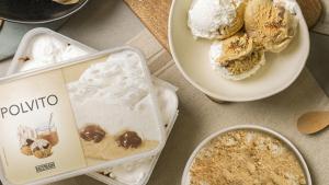 El gelat 'Polvito' basat en unes postres de les Canàries