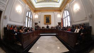 El ple de Reus durant la sessió d'investidura