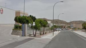 El polígono de Tres Hermanas en Aspe, donde se ha producido el accidente